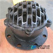 自貢水泵吸水蓮蓬頭法蘭升降式底閥
