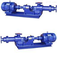 I-1B型不鏽鋼濃漿泵無堵塞螺杆濃漿泵