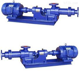 I-1B型不锈钢浓浆泵无堵塞螺杆浓浆泵