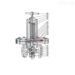 Type18德国Niezgodka安全阀垃圾渗滤液处理阀门