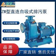 自吸式無堵塞排污泵 耐酸堿腐蝕潛污泵