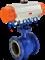 PLV气动固定软密封球阀-大口径球阀