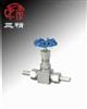 J23H针型阀:外螺纹针型阀